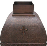 french copper range hood