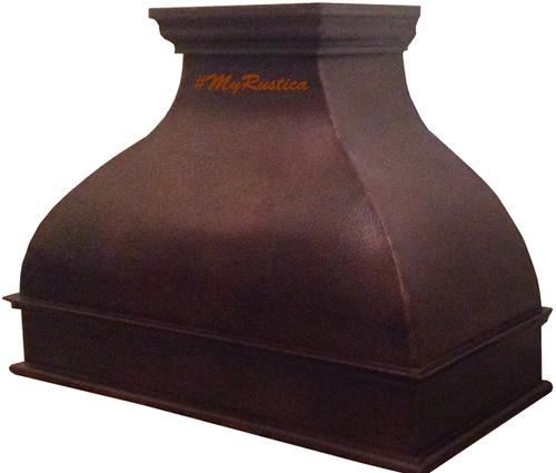 Decorative Oven Hoods ~ Decorative metal copper range hood