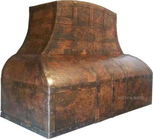 range hood made of copper