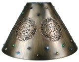 custom tin lamp shade
