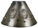decorative tin lamp shade