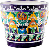 Mexican Pottery Flower Pot talavera pot 05-08