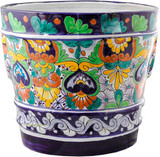 Mexican Pottery Flower Pot talavera pot 05-06