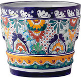 Mexican Pottery Flower Pot