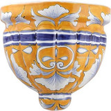 Talavera Pottery: Mexican Wall Sconce mexican sconce 0-23