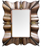 contemporary tin mirror