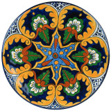Hand Painted Talavera: Mexican Plate talavera plate29