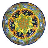 Hand Painted Talavera: Mexican Plate talavera plate28
