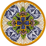 custom made talavera yellow black