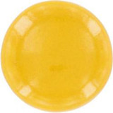yellow ceramic pull knob