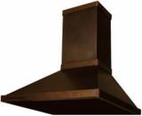 modern copper range hood