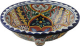 handcrafted talavera sink
