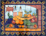 decorative kitchen wall tile mural