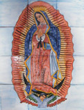 Our Lady Virgin of Guadalupe kitchen wall tile mural