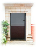 Mexican Cantera Architectural Stone Door