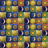 100 Talavera Tile Lot