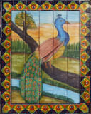 mexican kitchen bath tile mural