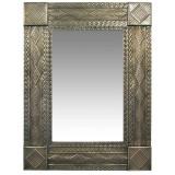 aztec tin mirror