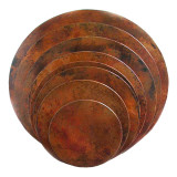copper restaurant table-tops round