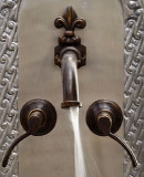 classic colonial bar kitchen wall bronze faucet