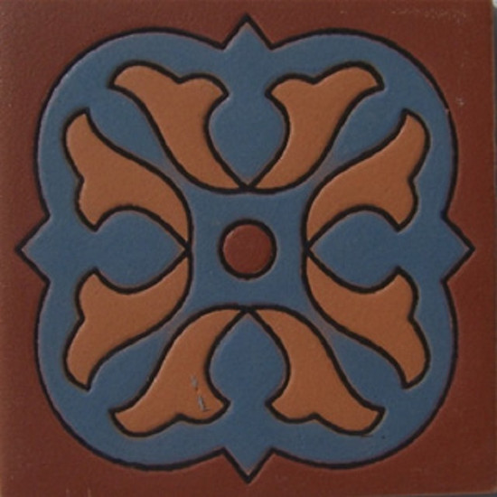 Traditional Pamplona Relief Tile