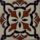classic colonial relief tile black