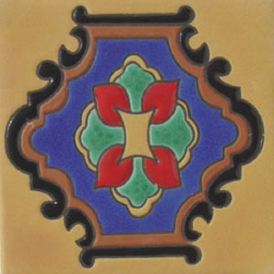 Colonial Ocampo Relief Tile