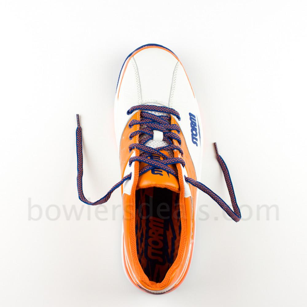 Storm SP 702 Men's Bowling Shoes  White Orange Blue Right Hand