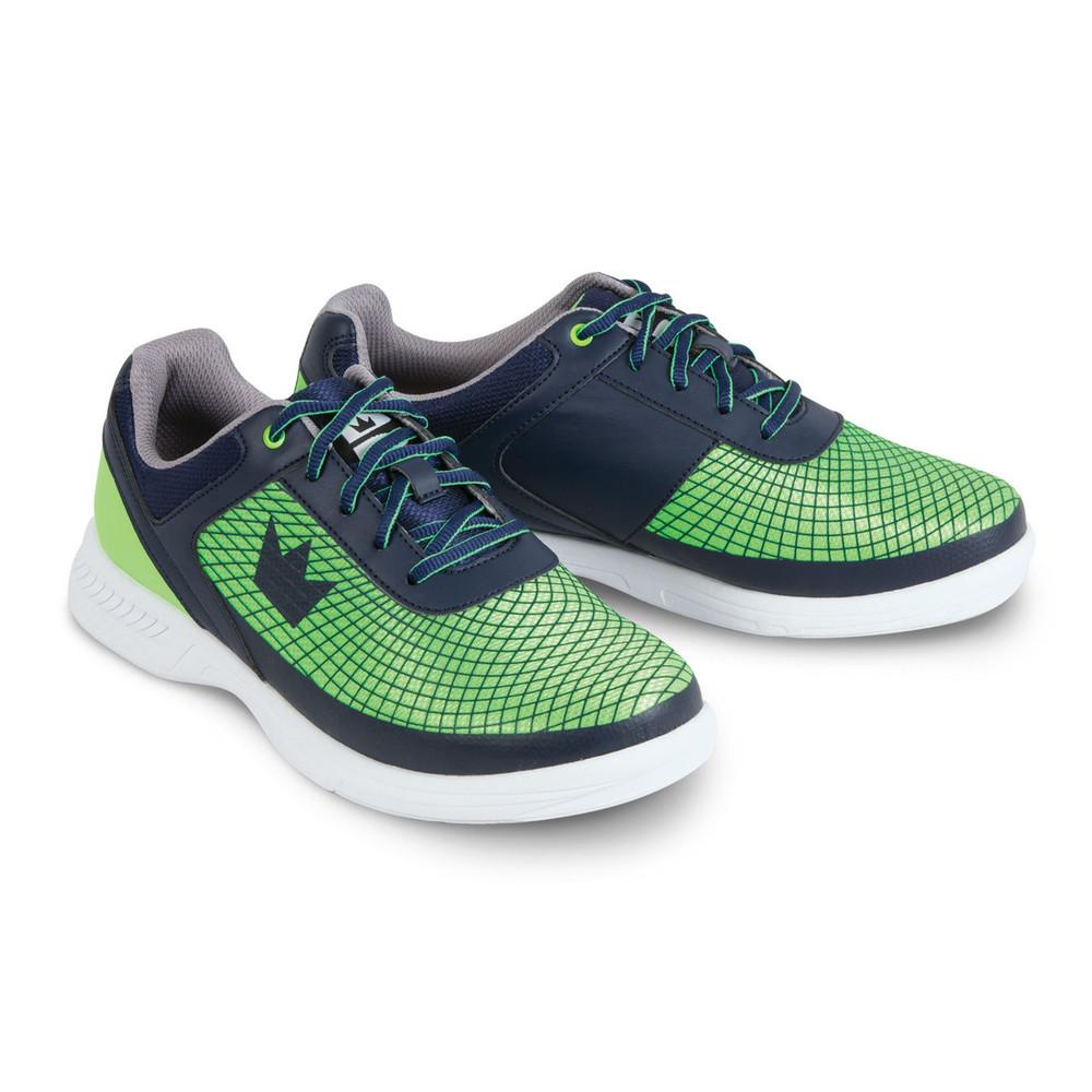 Brunswick Frenzy Men's Bowling Shoes Navy Green