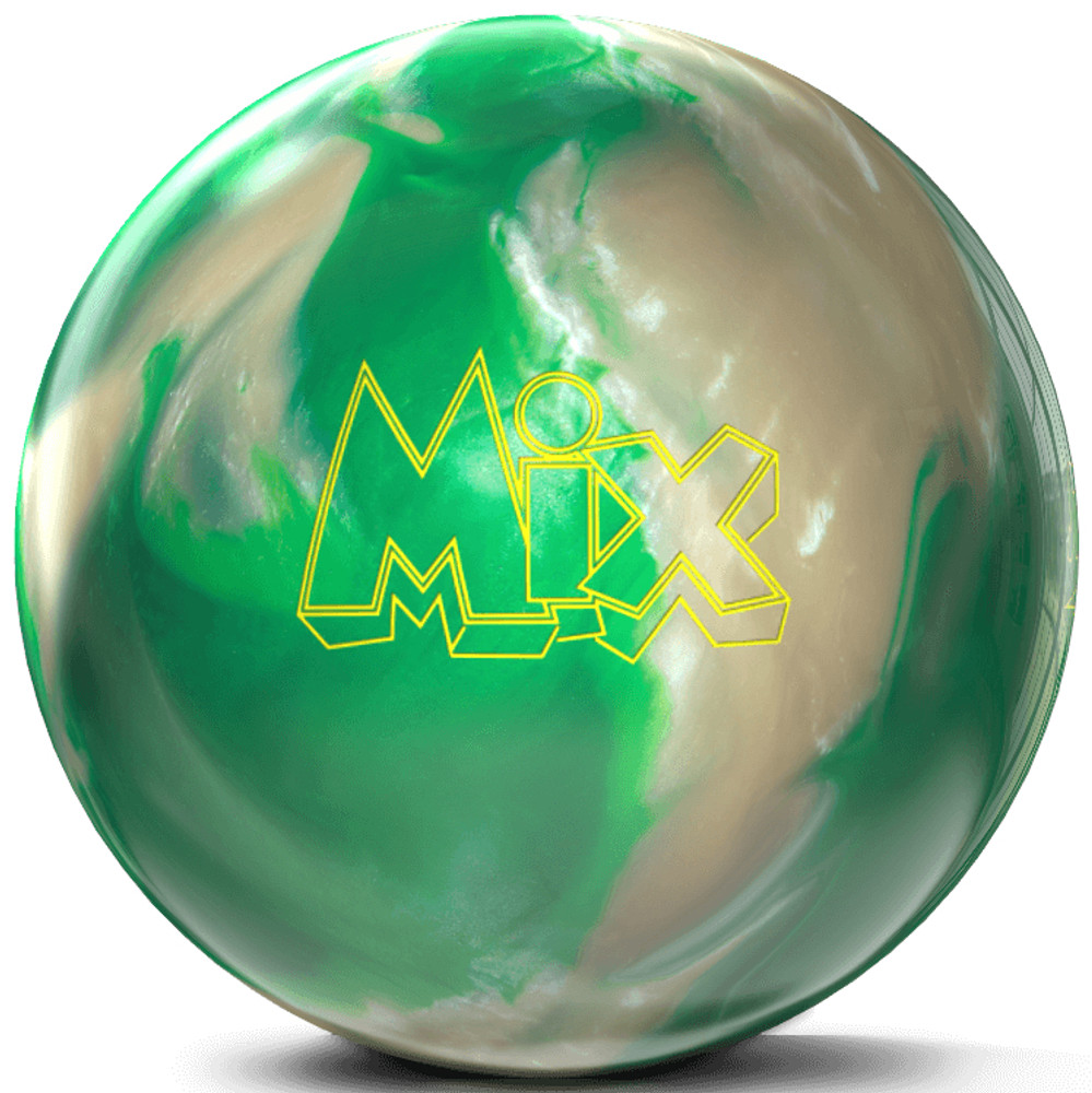 Storm Mix Pearl Bowling Ball Green White