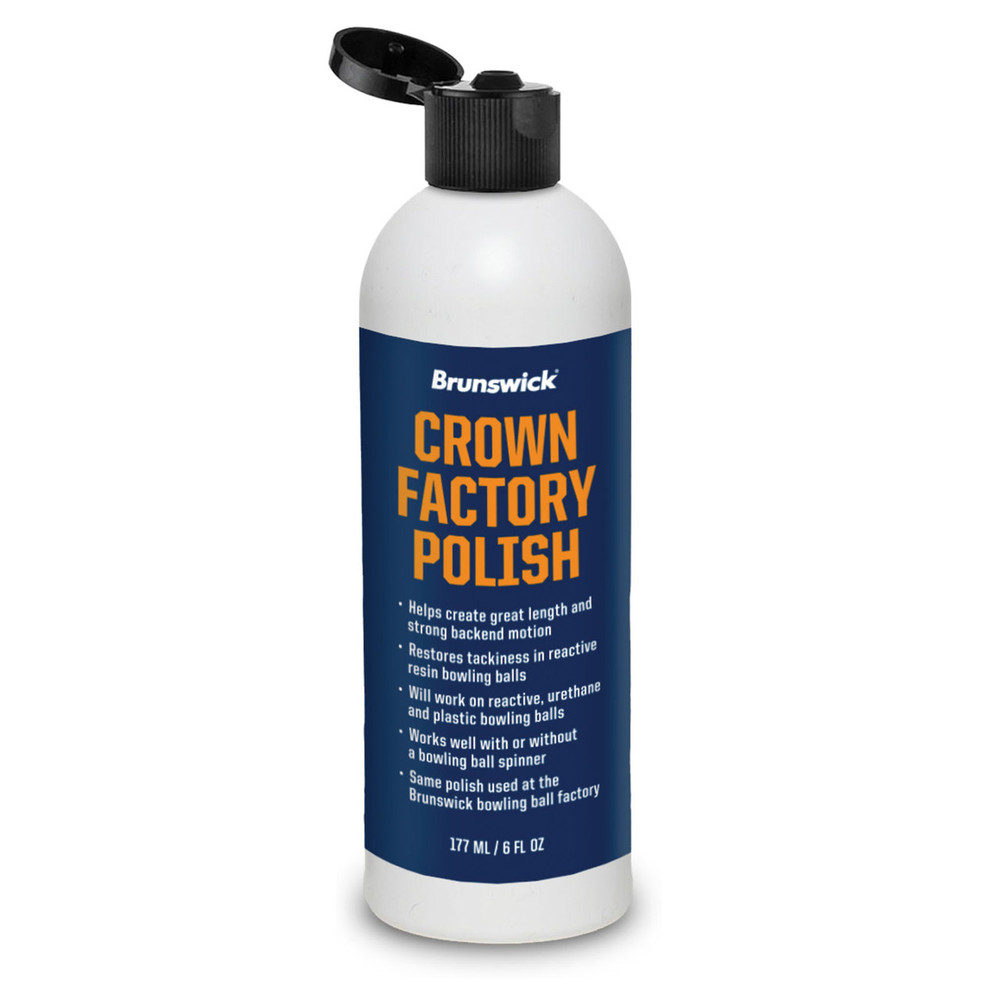Brunswick Crown Factory Polish 8oz Bottle