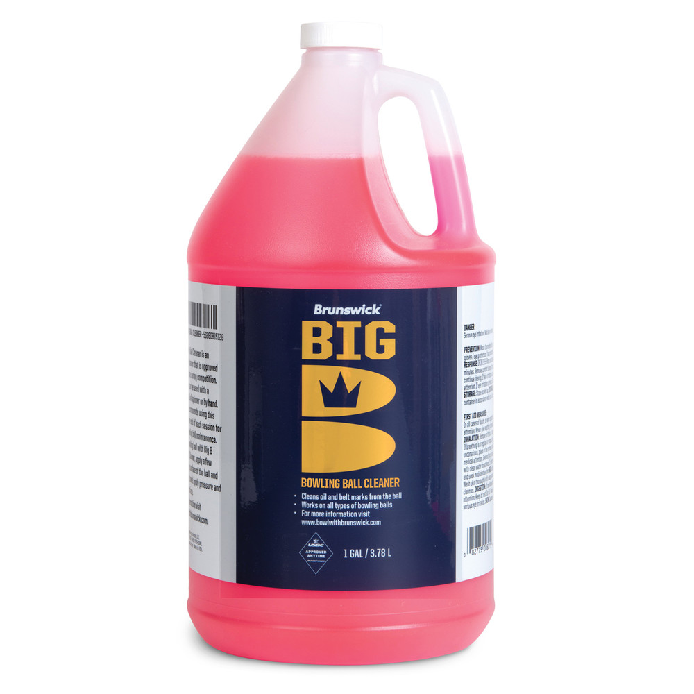 Brunswick Big B Ball Cleaner 1 Gallon Bottle