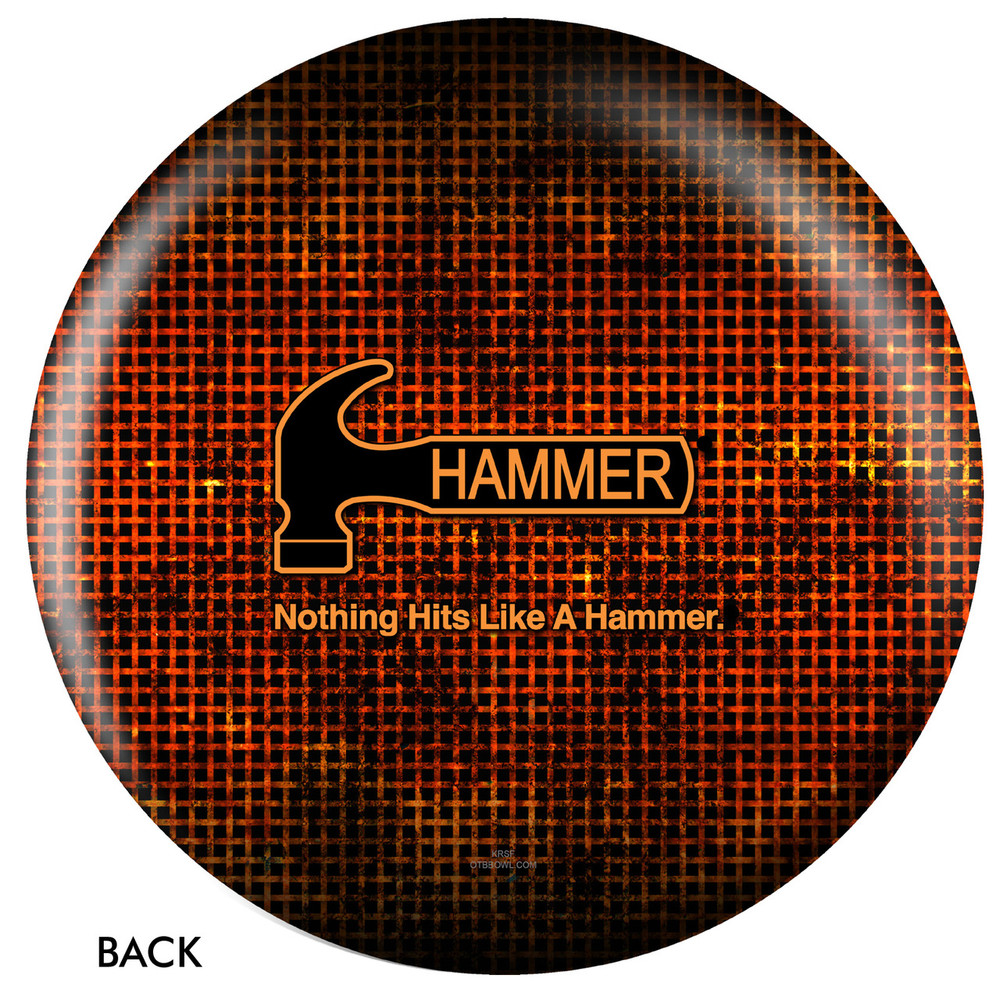 Hammer Logo Ball Back View