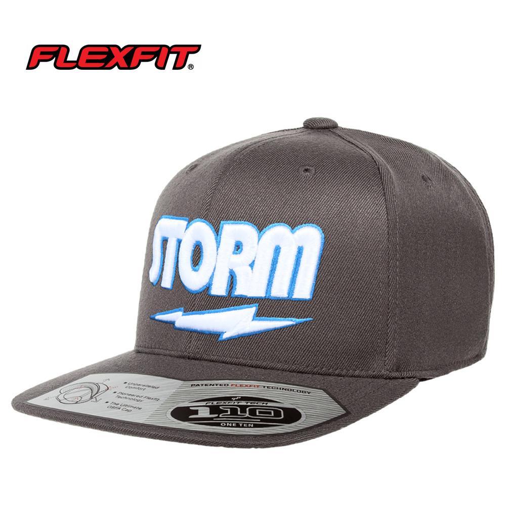 Storm Classic Flat Bill Hat Gray