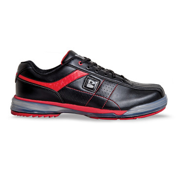 Brunswick TPU X Mens Bowling Shoes Black Red Right Hand side view