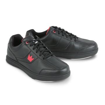 Brunswick Edge Men's Bowling Shoes Black Wide Width