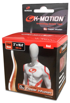 Genesis K-Motion Tape Red Roll