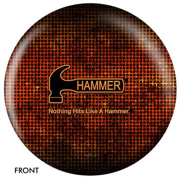 Hammer Logo Ball Front View