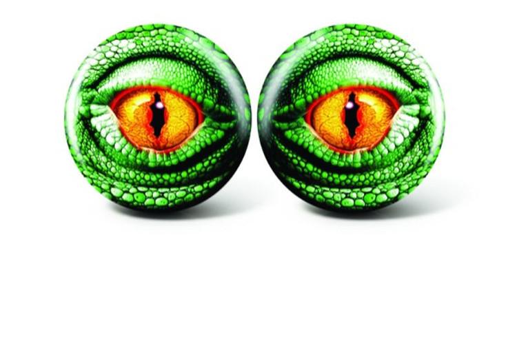 Brunswick Viz a Ball Lizard Eye Glow Bowling Ball