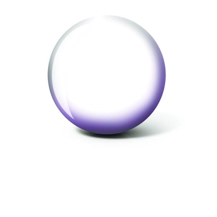 Brunswick White Ball Viz a Ball Bowling Ball