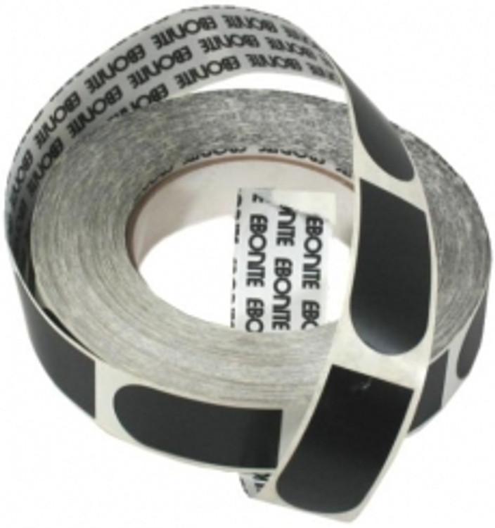 "Ebonite Ultra Grip 1"" Black Tape 500 Piece Roll"