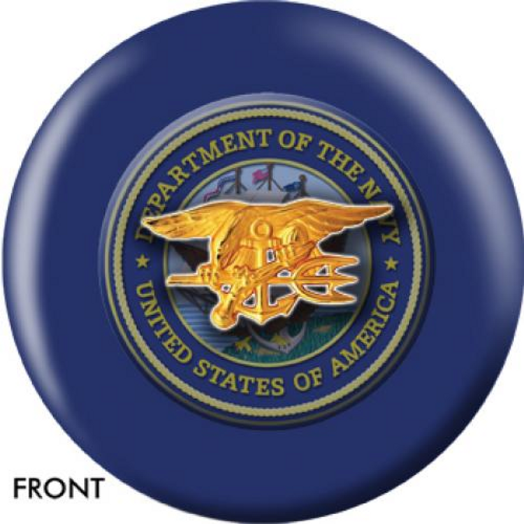 OTB Navy Seals Bowling ball