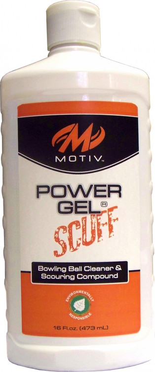 Motiv Power Gel Scuff  16 oz Bowling Ball Cleaner and Scouring Compound