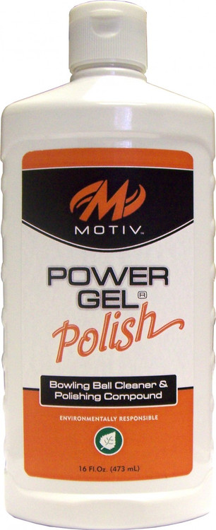Motiv Power Gel Polish Bowling Ball Cleaner and Polishing Compound 16oz