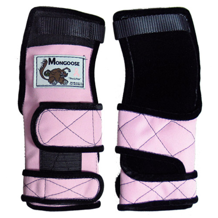 Mongoose Lifter Left Hand Wrist Positioner Pink