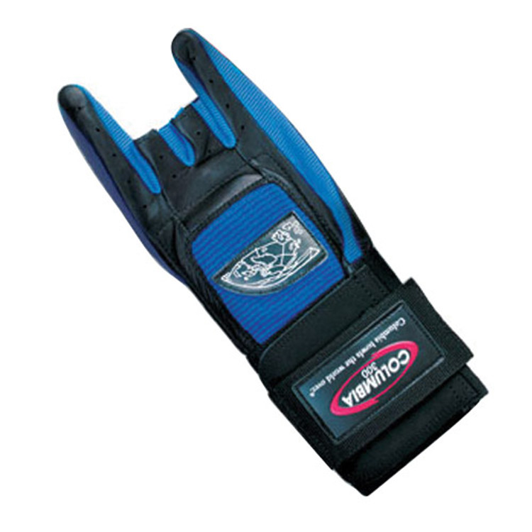 Columbia 300  Pro Wrist Glove Blue Left Hand
