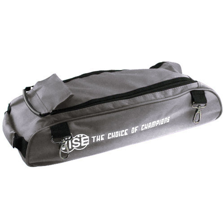 Vise 3 Ball Clear Top Roller Shoe Bag Grey