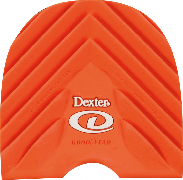 Dexter Replacement Heel #1 Orange Ultra Brakz Small