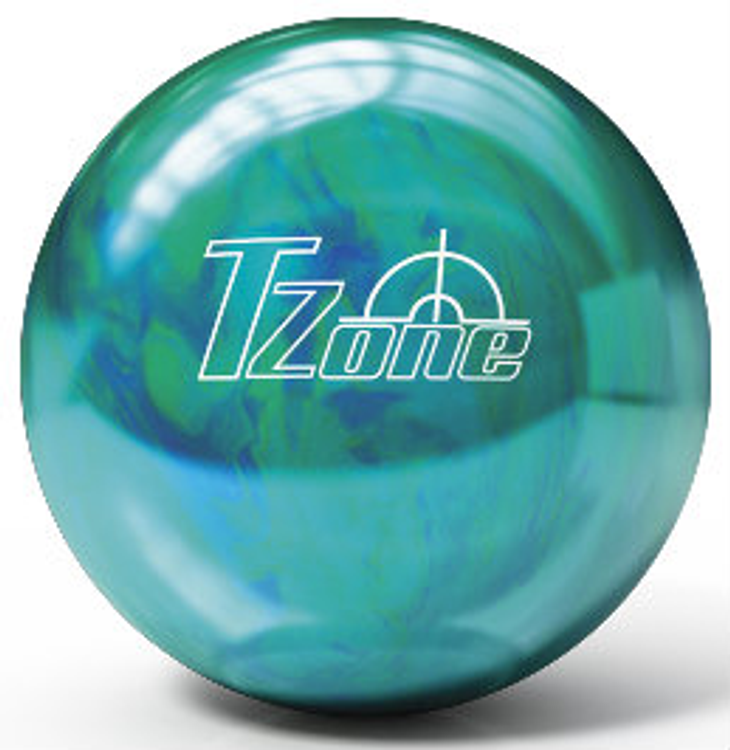 Brunswick TZone Carribbean Blue Bowling Ball