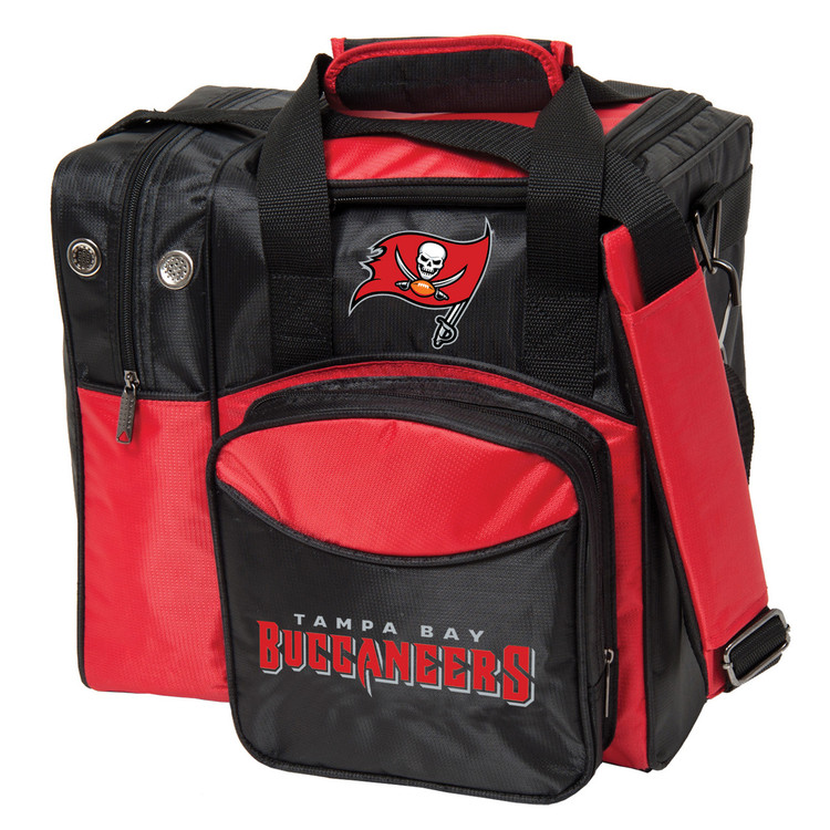 NFL 1 Ball Single Tote Bowling Bag Tampa Bay Buccaneers